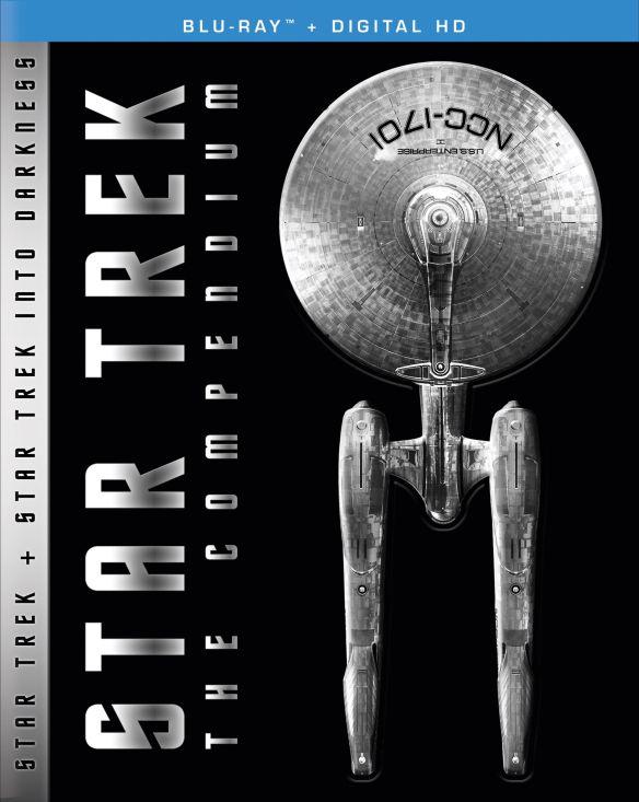 Star Trek: The Compendium - Star Trek/Star Trek Into Darkness [Blu-ray] [4 Discs] 5260900