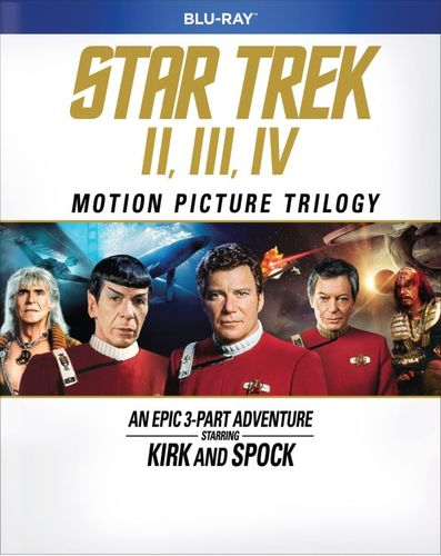 Star Trek: The Motion Picture Trilogy [Blu-ray] [3 Discs] 5260901