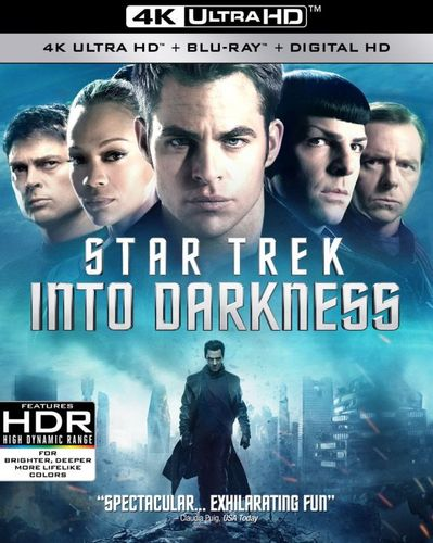 Star Trek Into Darkness [4K Ultra HD Blu-ray/Blu-ray] [Includes Digital Copy] [2013] 5260909