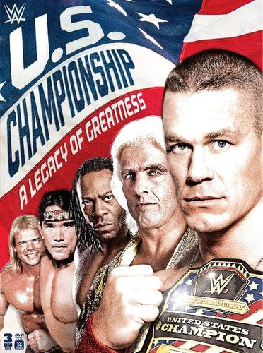 WWE: The U.S. Championship - A Legacy of Greatness [3 Discs] [DVD] [2016] 5262313