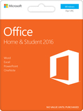 Office Home & Student 2016, 1 PC (Product Key Card) - Windows