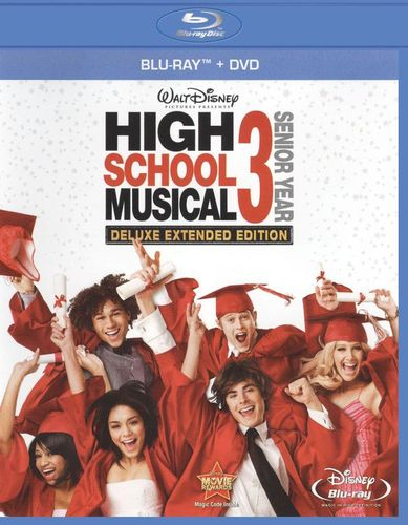 High School Musical 3: Senior Year [2 Discs] [Blu-ray/DVD] [2008] 5270100