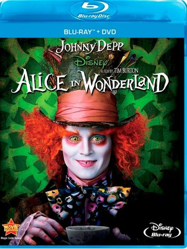 Alice in Wonderland [Blu-ray/DVD] [2 Discs] [2010] 5270201