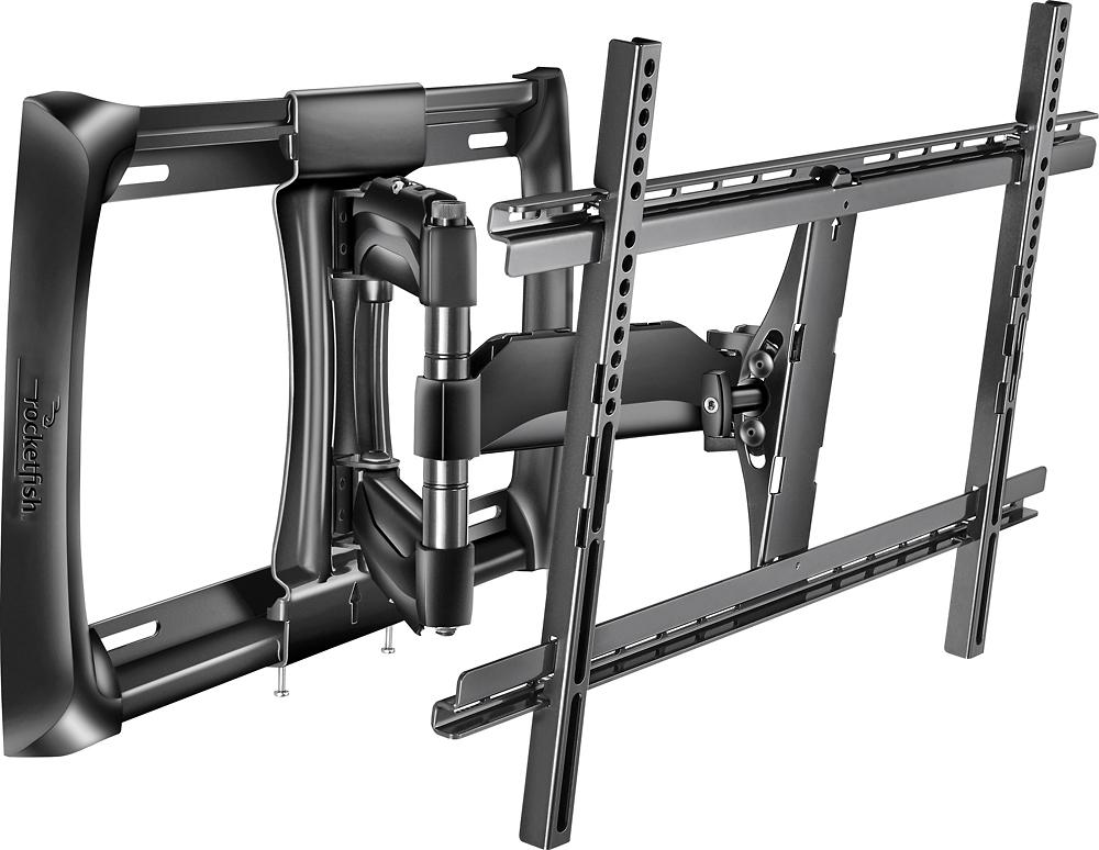 "Rocketfish™ - Full-Motion TV Wall Mount for Most 40"" - 75"" TVs - Black"
