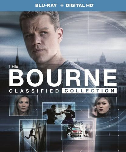 The Bourne Classified Collection [UltraViolet] [Includes Digital Copy] [Blu-ray] [5 Discs] 5272501