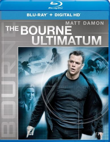 The Bourne Ultimatum [Includes Digital Copy] [UltraViolet] [Blu-ray] [2007] 5275108