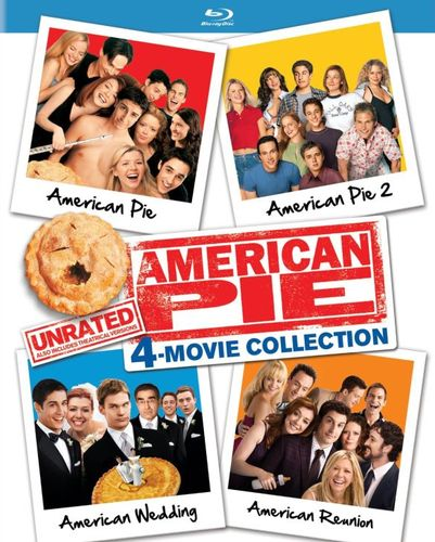 American Pie: Movie Collection - Unrated [Blu-ray] [4 Discs] 5275109