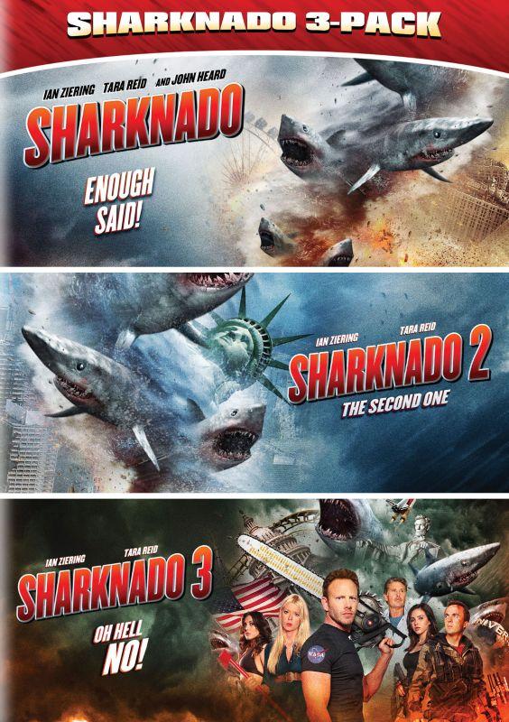 Sharknado Triple Feature [3 Discs] [DVD] 5275136