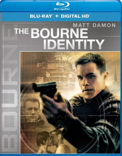 The Bourne Identity [Includes Digital Copy] [UltraViolet] [Blu-ray] [2002] 5275139