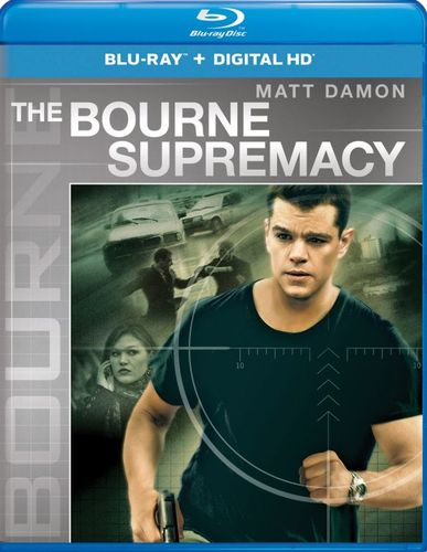 The Bourne Supremacy [Includes Digital Copy] [UltraViolet] [Blu-ray] [2004] 5275166
