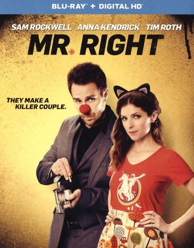 Mr. Right [UltraViolet] [Includes Digital Copy] [Blu-ray] [2015] 5276806