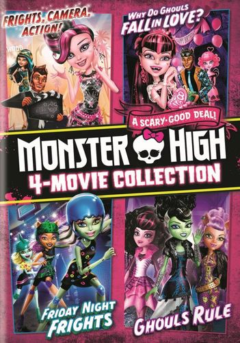 Monster High: 4-Movie Collection [3 Discs] [DVD] 5279018