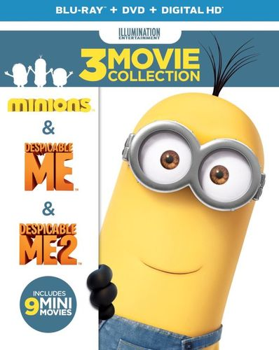 Despicable Me 3-Movie Collection [Blu-ray/DVD] [6 Discs] 5279039