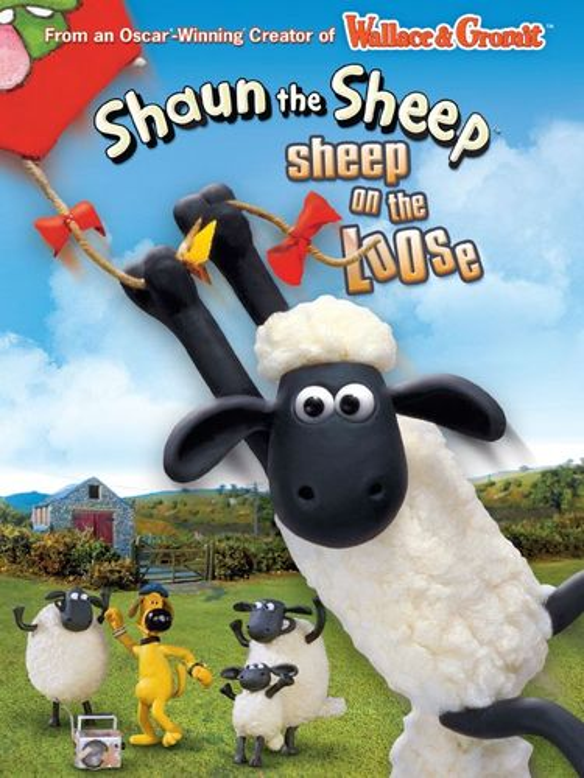 Shaun the Sheep: Sheep on the Loose [DVD] 5279206