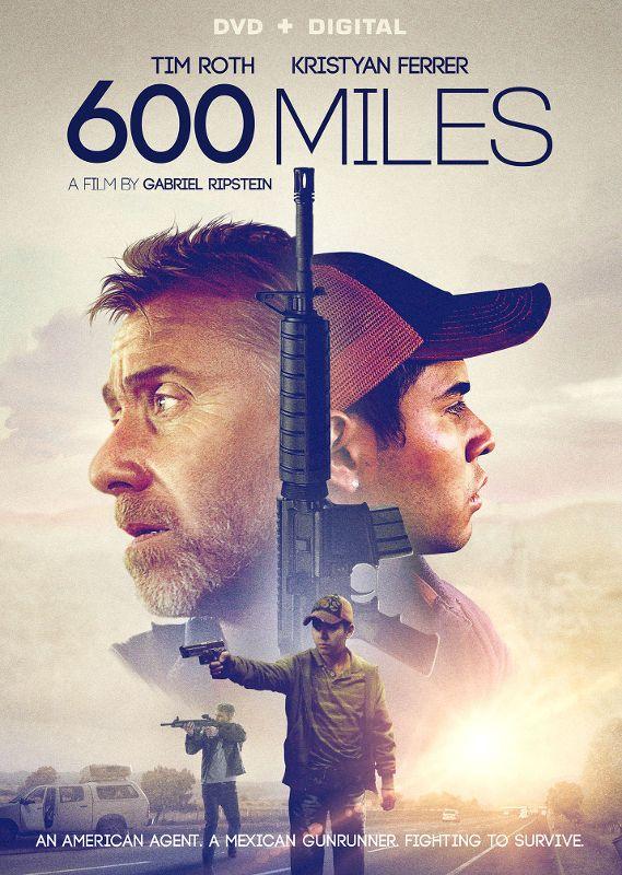 600 Miles [DVD] [2015]...