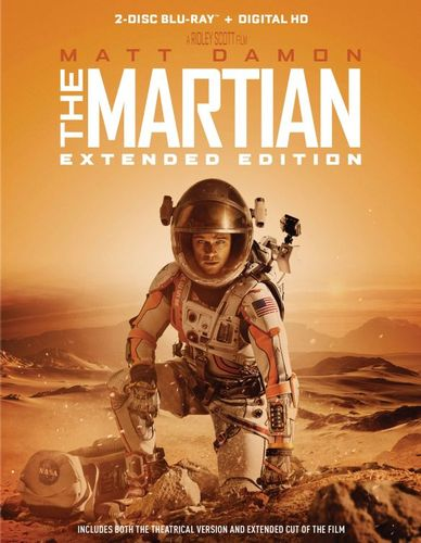The Martian [Extended Edition] [Blu-ray] [2 Discs] [2015] 5280005