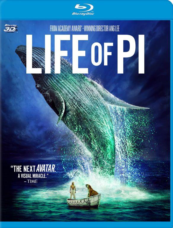 Life of Pi [3D] [Blu-ray] [Blu-ray/Blu-ray 3D] [2012] 5280006
