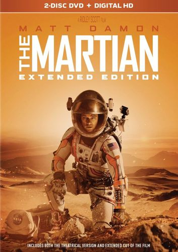 The Martian [Extended Edition] [2 Discs] [DVD] [2015] 5280014
