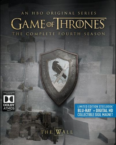 Game of Thrones: The Complete Fourth Season [Blu-ray] [4 Discs] [SteelBook] 5280700