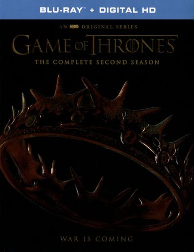 Game of Thrones: The Complete Second Season [Blu-ray] [5 Discs] 5280701