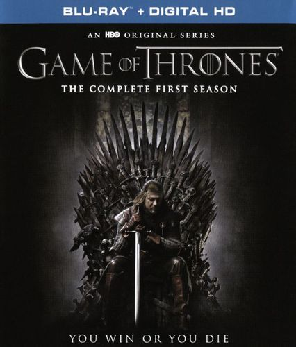 Game of Thrones: The Complete First Season [Blu-ray] [5 Discs] 5280702