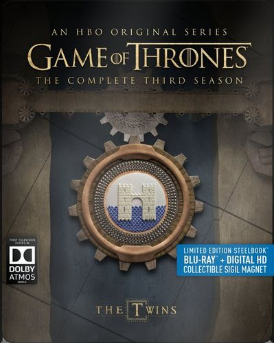 Game of Thrones: The Complete Third Season [Blu-ray] [5 Discs] [SteelBook] 5280705