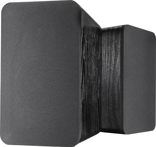 Insignia- Powered Bookshelf Speakers (Pair) - Black