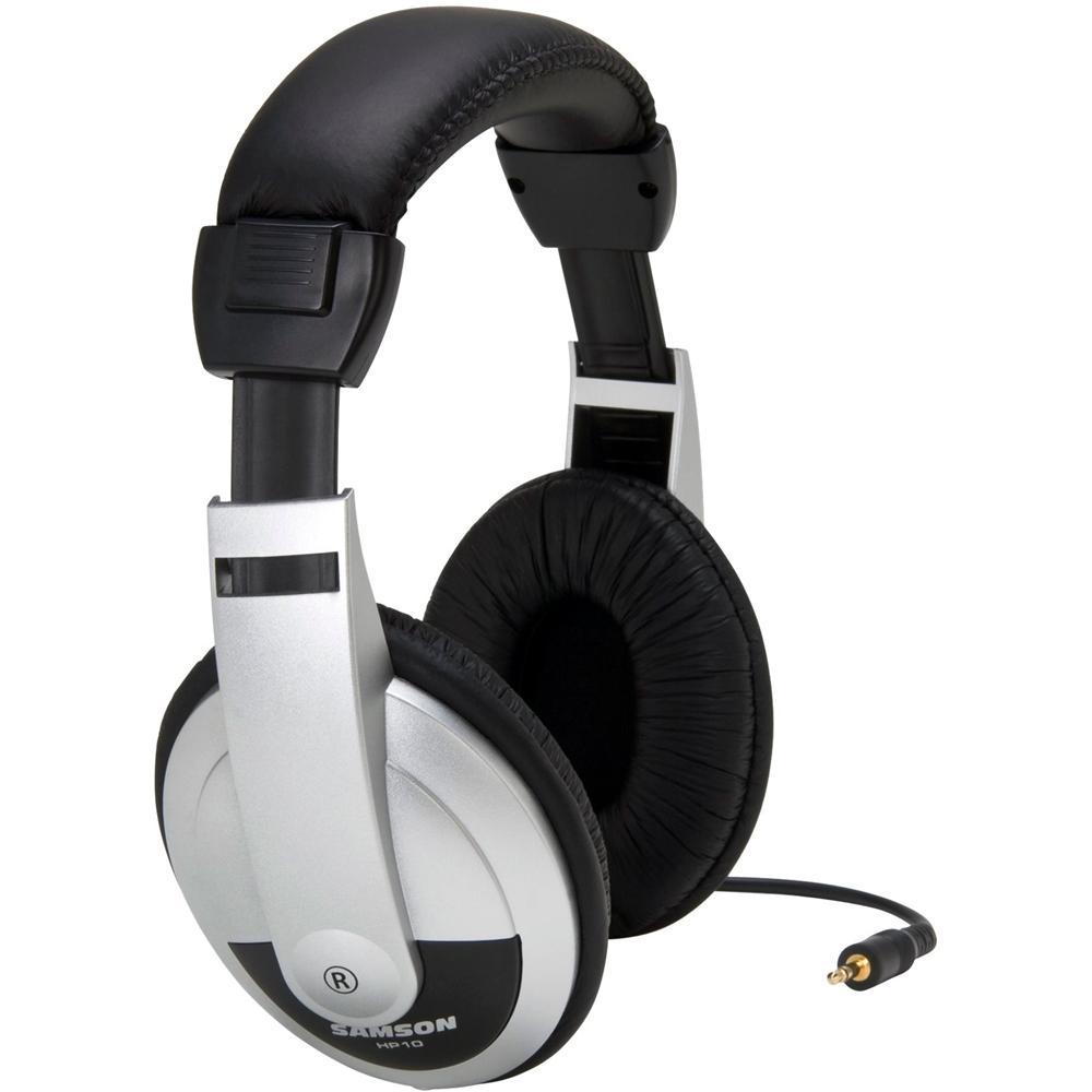 Samson Over-the-Ear Headphones Silver, Black SAHP10
