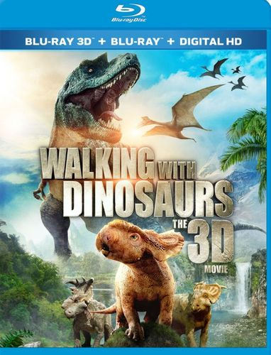 Walking with Dinosaurs: The Movie [3D] [Blu-ray] [Blu-ray/Blu-ray 3D] [2013] 5291401