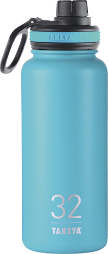 Takeya - Originals 32-Oz. Insulated Stainless Steel Water Bottle - Ocean