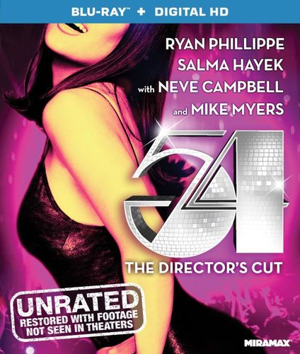 54 [Director's Cut] [Blu-ray] [1998] 5294419