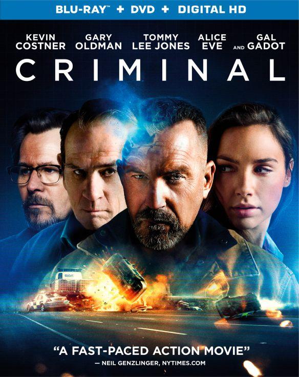 Criminal [Blu-ray] [2 Discs] [2016] 5295504