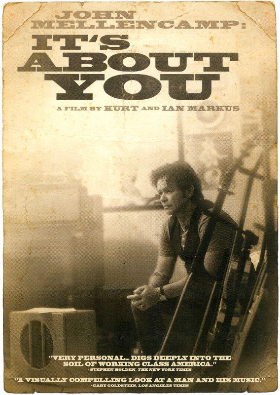 John Mellencamp: It's About You [DVD] [2011] 5297282