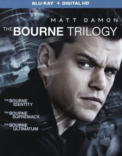 The Bourne Trilogy [Includes Digital Copy] [UltraViolet] [Blu-ray] [3 Discs] 5297500