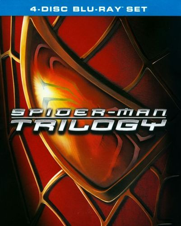 Spider-Man/Spider-Man 2/Spider-Man 3 [4 Discs] [Blu-ray] 5300026