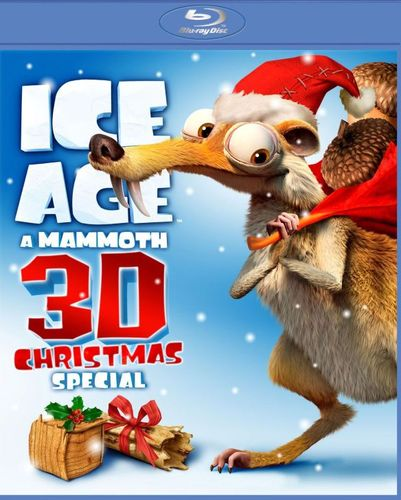 Ice Age: A Mammoth Christmas Special [3D] [Blu-ray] [Blu-ray/Blu-ray 3D] [2011] 5300300