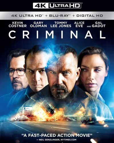 Criminal [4K Ultra HD Blu-ray/Blu-ray] [2016] 5301003