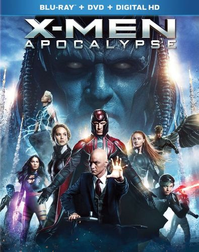 X-Men: Apocalypse [Blu-ray/DVD] [2016] 5303001