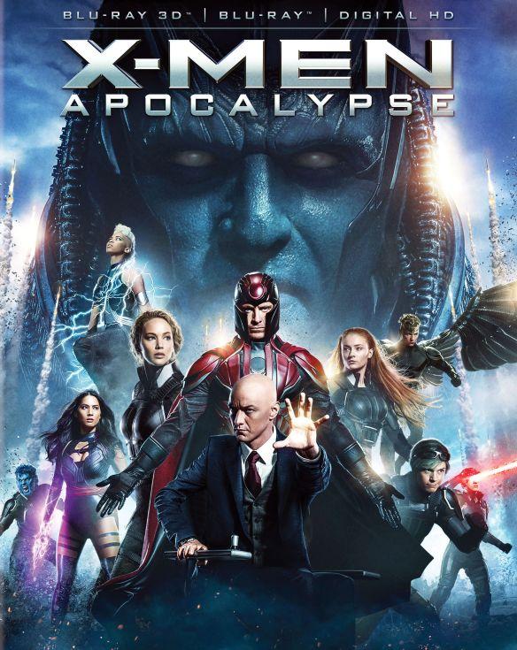 X-Men: Apocalypse [3D] [Blu-ray] [Blu-ray/Blu-ray 3D] [2016] 5303800