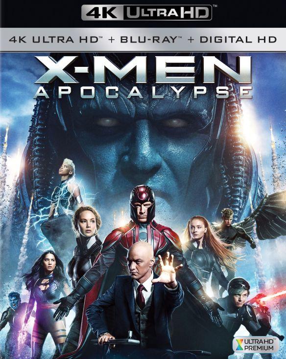 X-Men: Apocalypse [4K Ultra HD Blu-ray/Blu-ray] [2016] 5303901