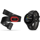 Garmin Forerunner 735xt Hrm4-run Bundle Blackgrey, One Size
