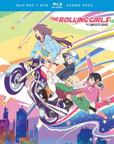 The Rolling Girls: The Complete Series [Blu-ray/DVD] [4 Discs] 5325505