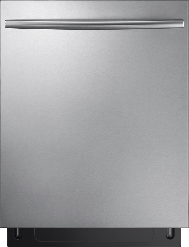 """Samsung DW80K7050US Stormwash 24"""" Top Control Built-In Dishwasher Stainless Steel"""