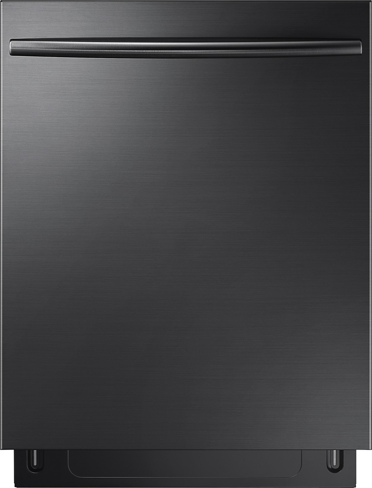 "Samsung DW80K7050UG Stormwash, 3rd Rack, 24"" Top Control Built-In Dishwasher Black Stainless Steel"