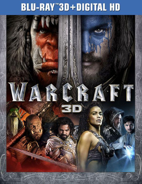 Warcraft [Includes Digital Copy] [3D] [Blu-ray] [Blu-ray/Blu-ray 3D] [2016] 5329027