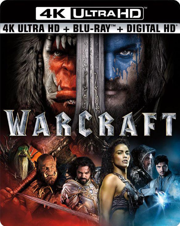 Warcraft [Includes Digital Copy] [4K Ultra HD Blu-ray/Blu-ray] [2016] 5329028