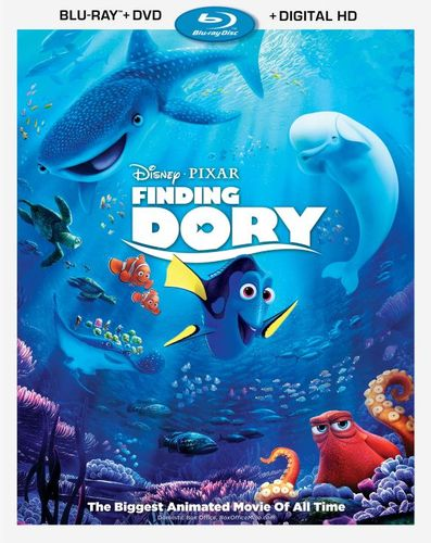 Finding Dory [Includes Digital Copy] [Blu-ray/DVD] [2016] 5329706