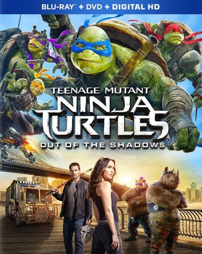 Teenage Mutant Ninja Turtles: Out of the Shadows [Includes Digital Copy] [Blu-ray/DVD] [2016] 5330403