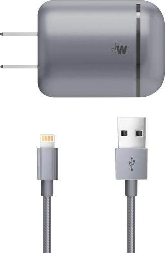 Just Wireless - Lightning Wall Charger - Space Gray