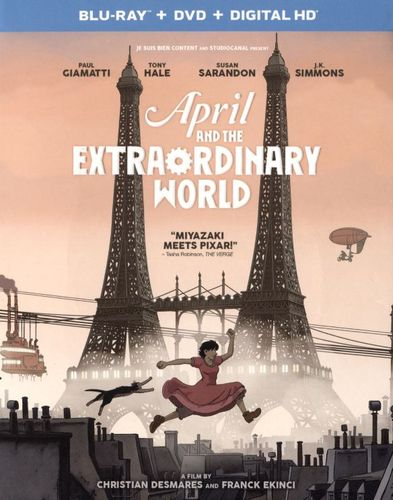 April and the Extraordinary World [Includes Digital Copy] [UltraViolet] [Blu-ray/DVD] [2 Discs] [2015] 5346600